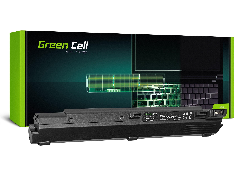 Green Cell Battery for MSI MegaBook S310 Averatec 2100 / 14,4V 4400mAh