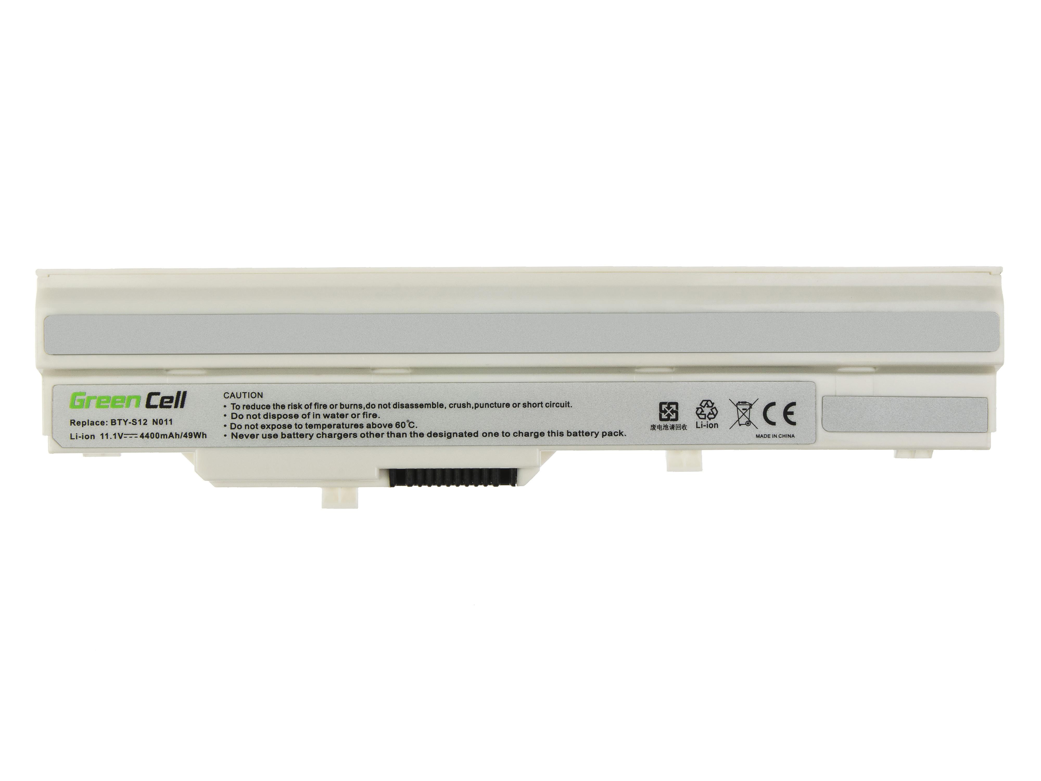 Green Cell MS11 Baterie MSI Wind U100 U200 BTY-S12 4400mAh Li-ion - neoriginální