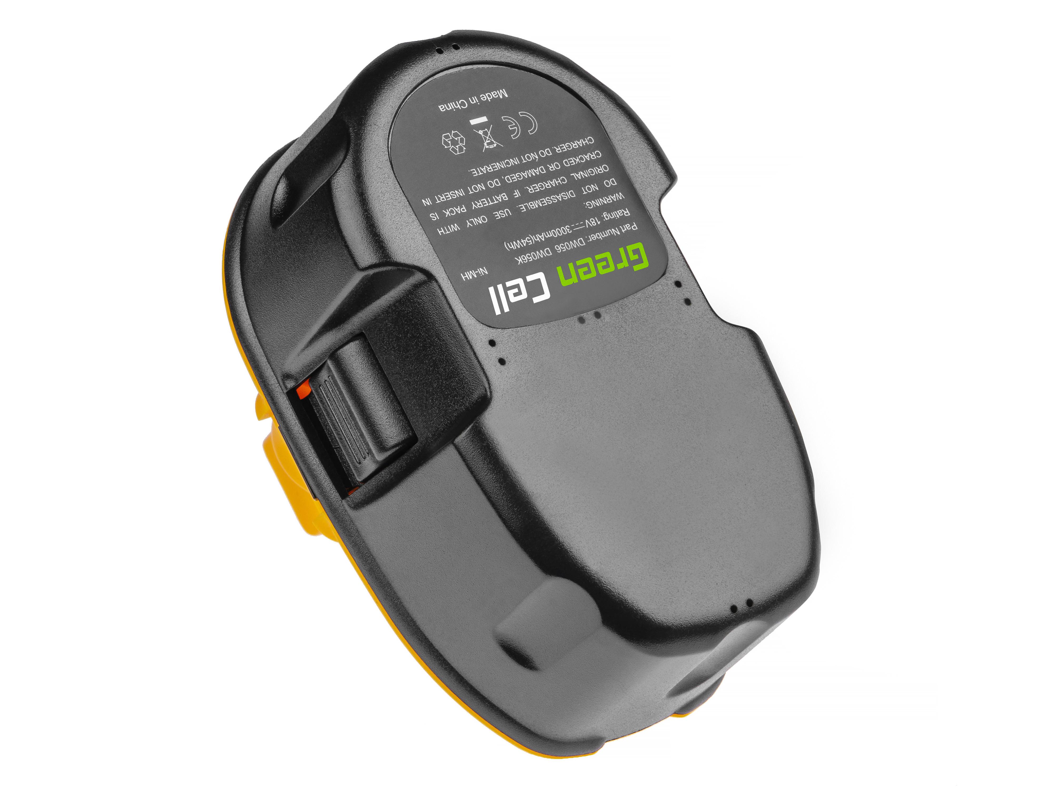 Green Cell Baterie DE9093 DE9503 pro DeWalt DC020 DC212