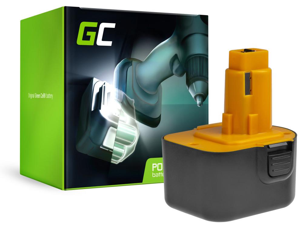 Power Tools Akkumulátor PS130 DE9072 PS12VK Black & Decker FS12 DeWalt DC740KA 2802K
