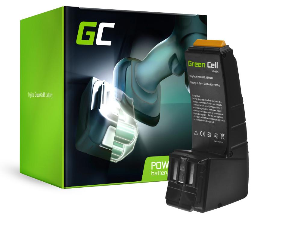 Green Cell Power Tool akkumulátor FESTOOL BPH9 6C 96ES 9.6V 2Ah