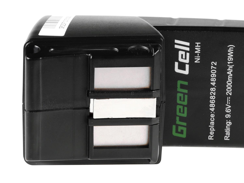 Green Cell Power Tool Battery for FESTOOL BPH9 6C 96ES 9.6V 2Ah