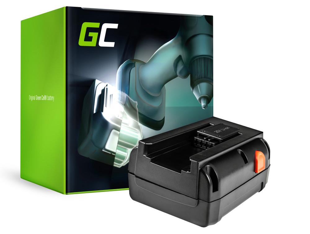 Green Cell Power Tool akkumulátor Gardena 8838 380 380EC 380LI 25V 4Ah