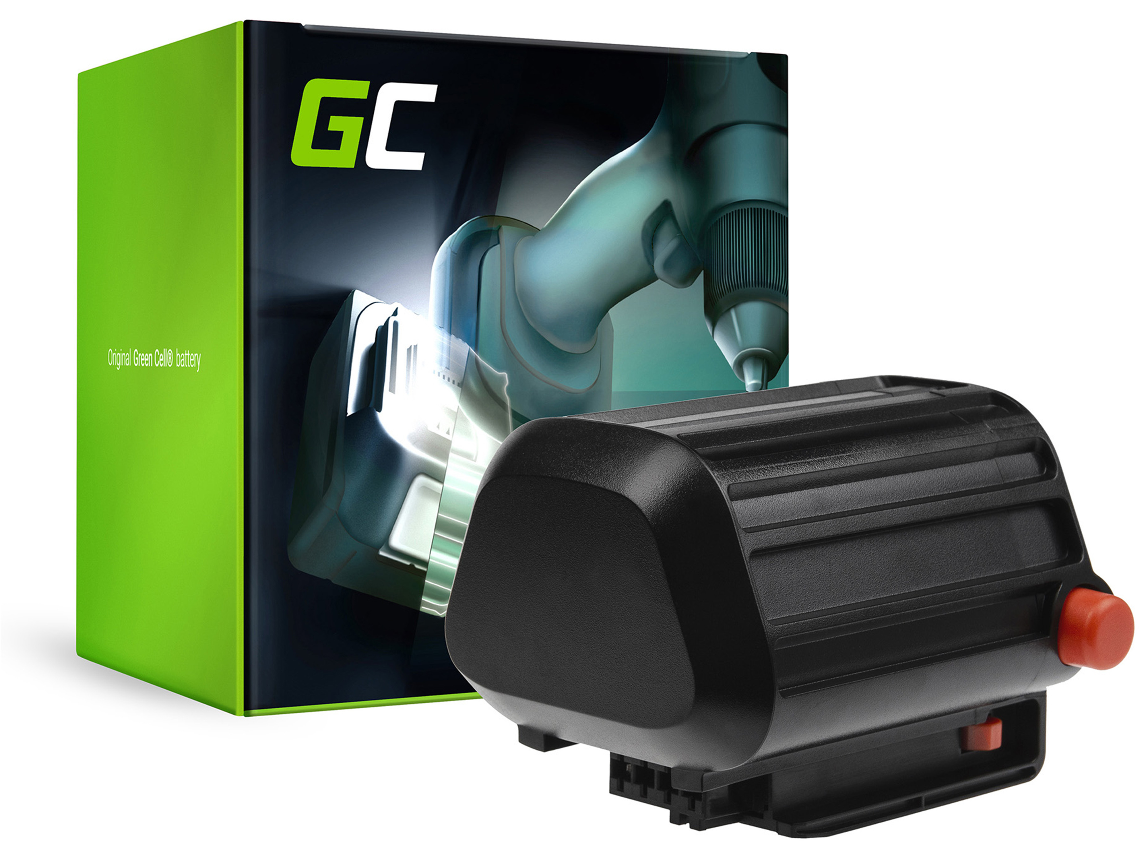 Baterie Green Cell Gardena BLi-18 8866 Li-18/50 TCS Li-18/20 18V 2500mAh Li-ion - neoriginální