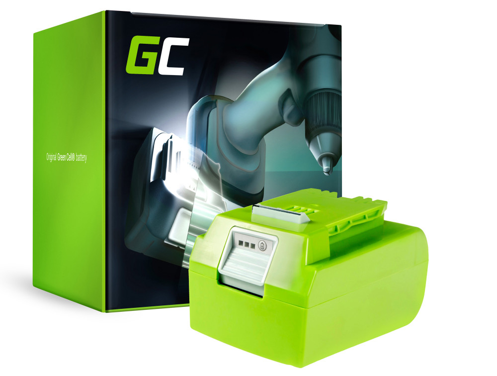 Green Cell Power Tool akkumulátor Greenworks 29852 G24 G24 24V 4Ah