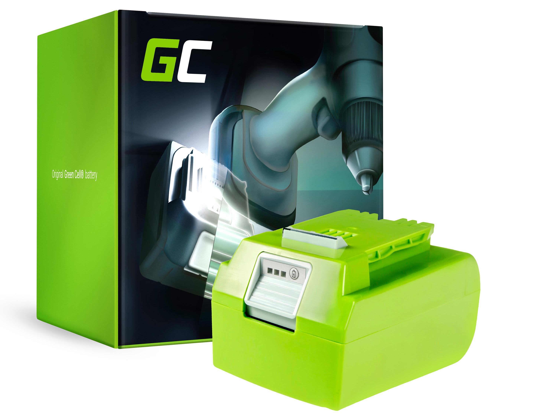 Green Cell PT106 Baterie GreenWorks 29852,29322,29807,29837,29842 GreenWorks G-24 G24 24V 4Ah Li-ion - neoriginální