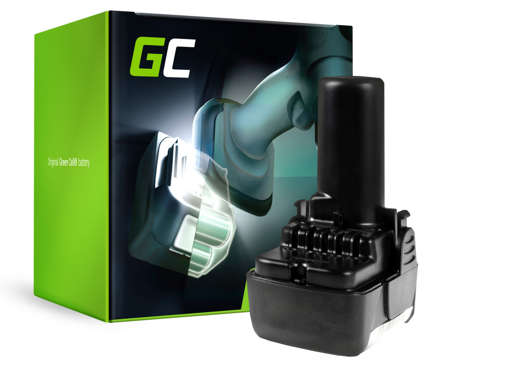 Green Cell Power Tool akkumulátor Hitachi CJ10DL BCL1015 10.8V 2Ah