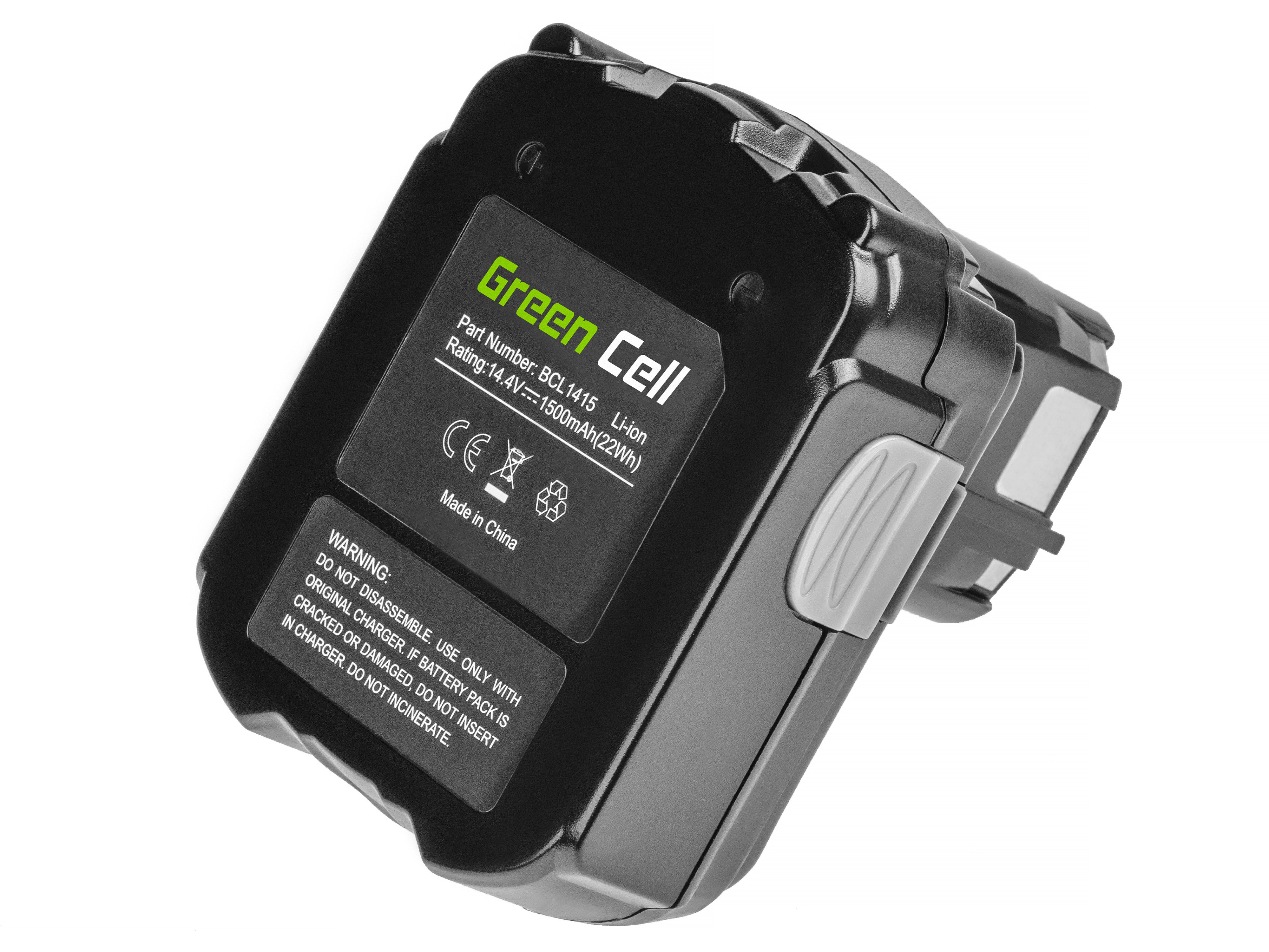 Baterie Green Cell Hitachi CJ14DL BCL1415 14.4V 1500mAh Li-ion - neoriginální