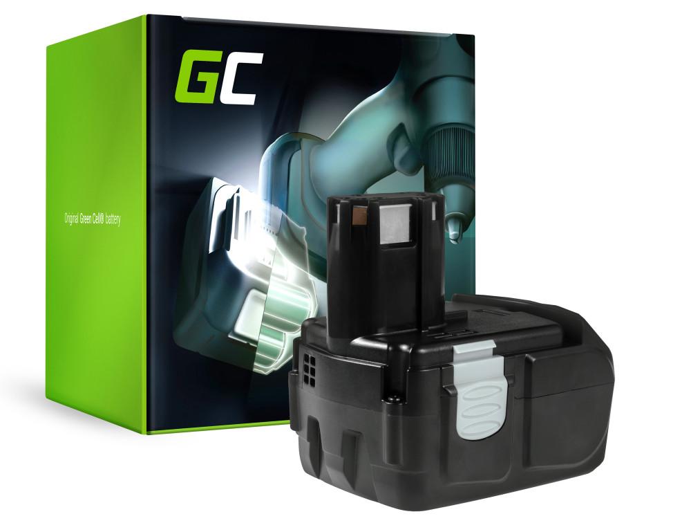 Green Cell Power Tool akkumulátor Hitachi BCL1815 C18DL 18V 2Ah