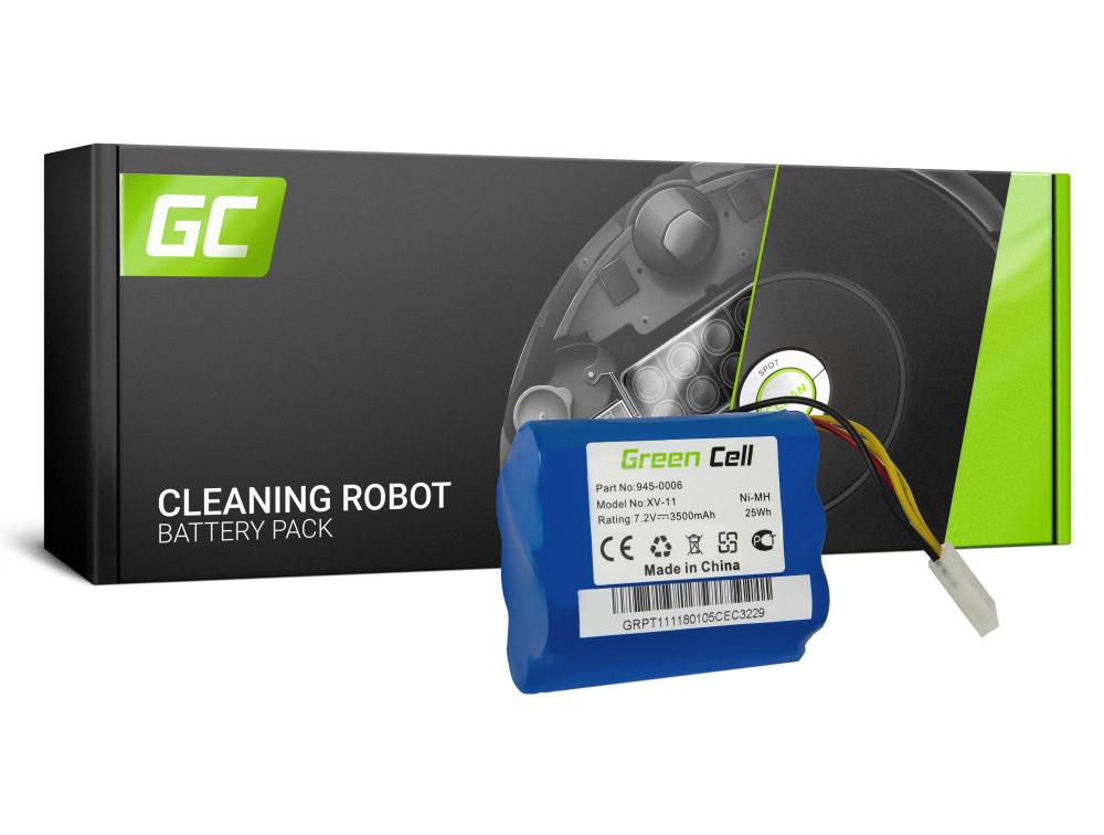 Green Cell Power Tool akkumulátor Neato 945-0006 XV-11 XV-12 XV-21 XV-25 7.2V 3.5Ah