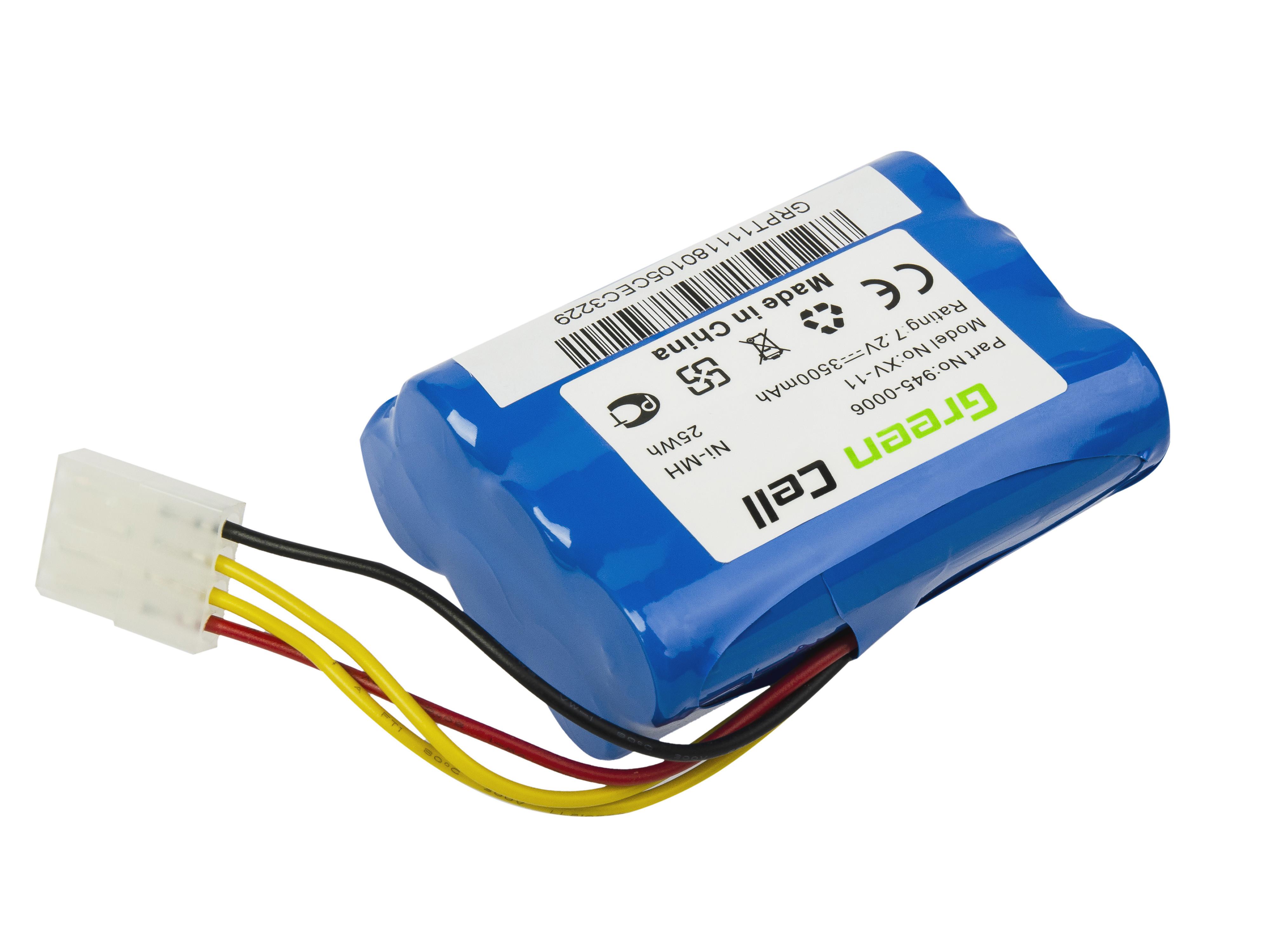 Green Cell Power Tool Battery for Neato 945-0006 XV-11 XV-12 XV-21 XV-25 7.2V 3.5Ah