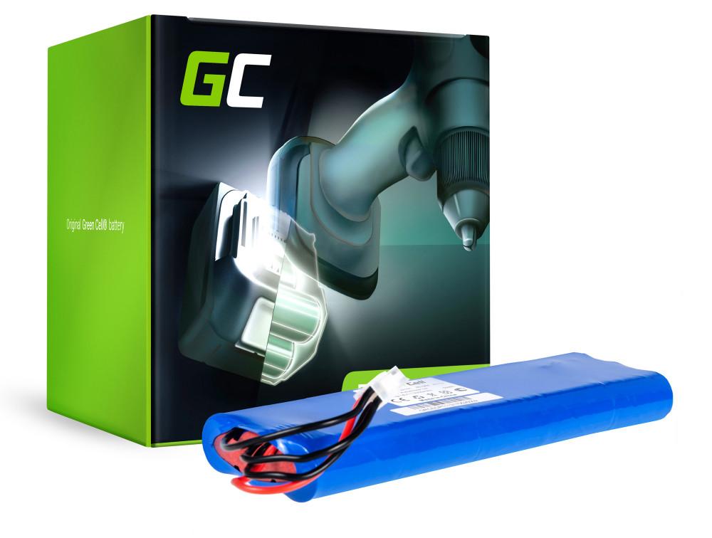 Green Cell Power Tool akkumulátor Husqvarna Automower 210C 220AC AU-18C AU-18V 18V 3.3Ah