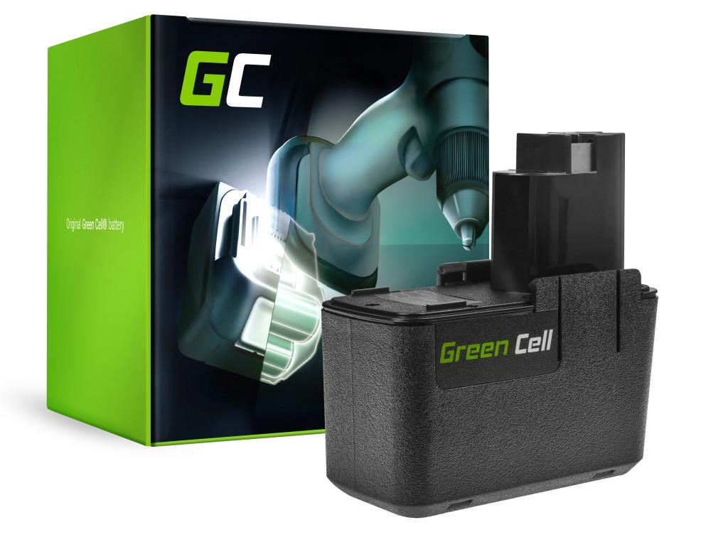 Green Cell Power Tool akkumulátor Bosch PSR BAT001 GSR VES2 BH-974H 9.6V 2,5Ah