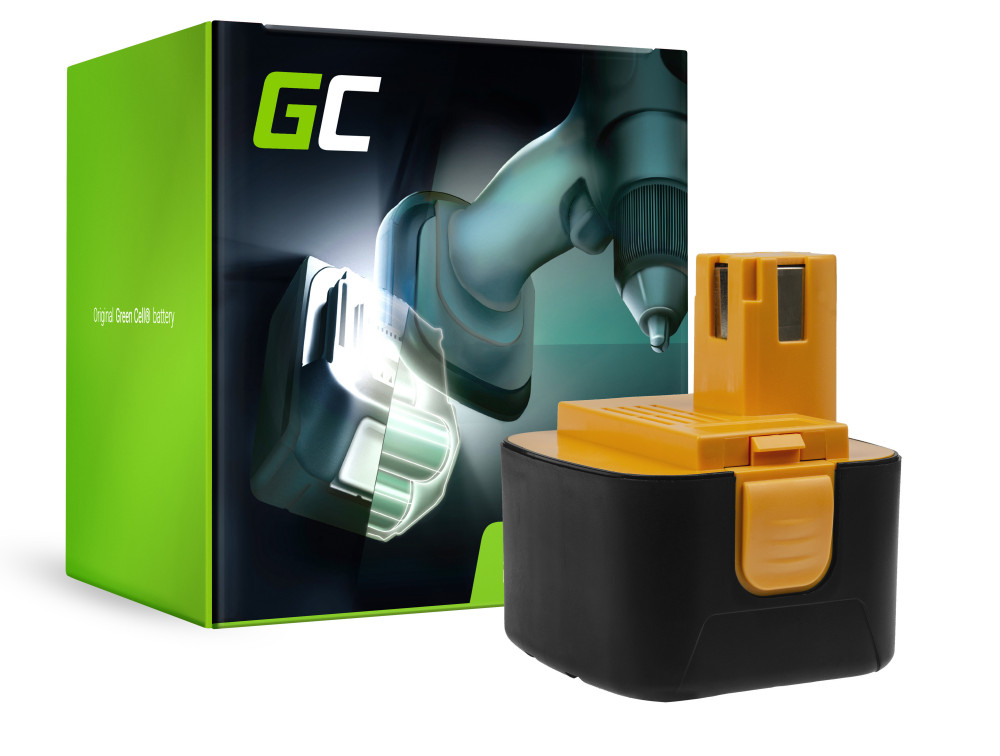 Green Cell Power Tool akkumulátor Panasonic EY9001 EY9101 EY9108 EY9200 EY9201 12V 3.3Ah