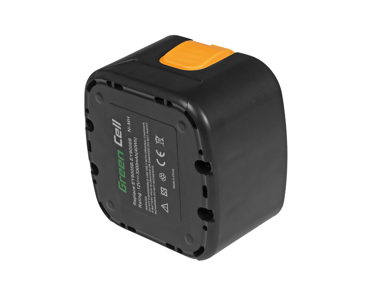 Baterie Green Cell Panasonic EY9001 EY9101 EY9108 EY9200 EY9201 12V 3300 mAh Ni-MH – neoriginální