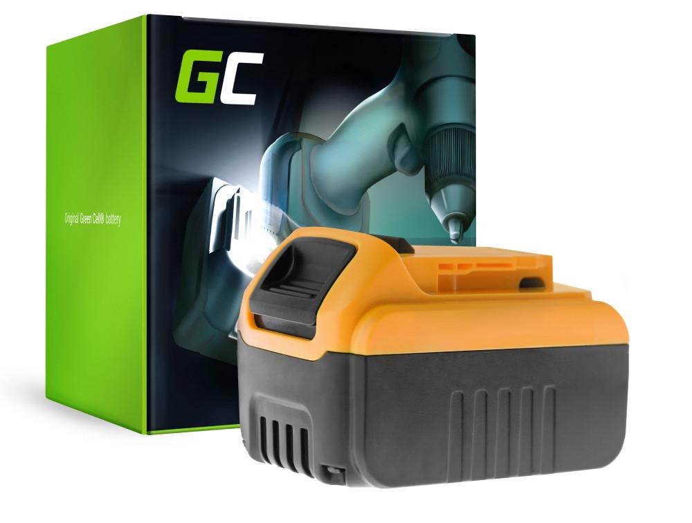 Green Cell Power Tool akkumulátor Dewalt DCB184 DCB182 DCB180 18V 6Ah