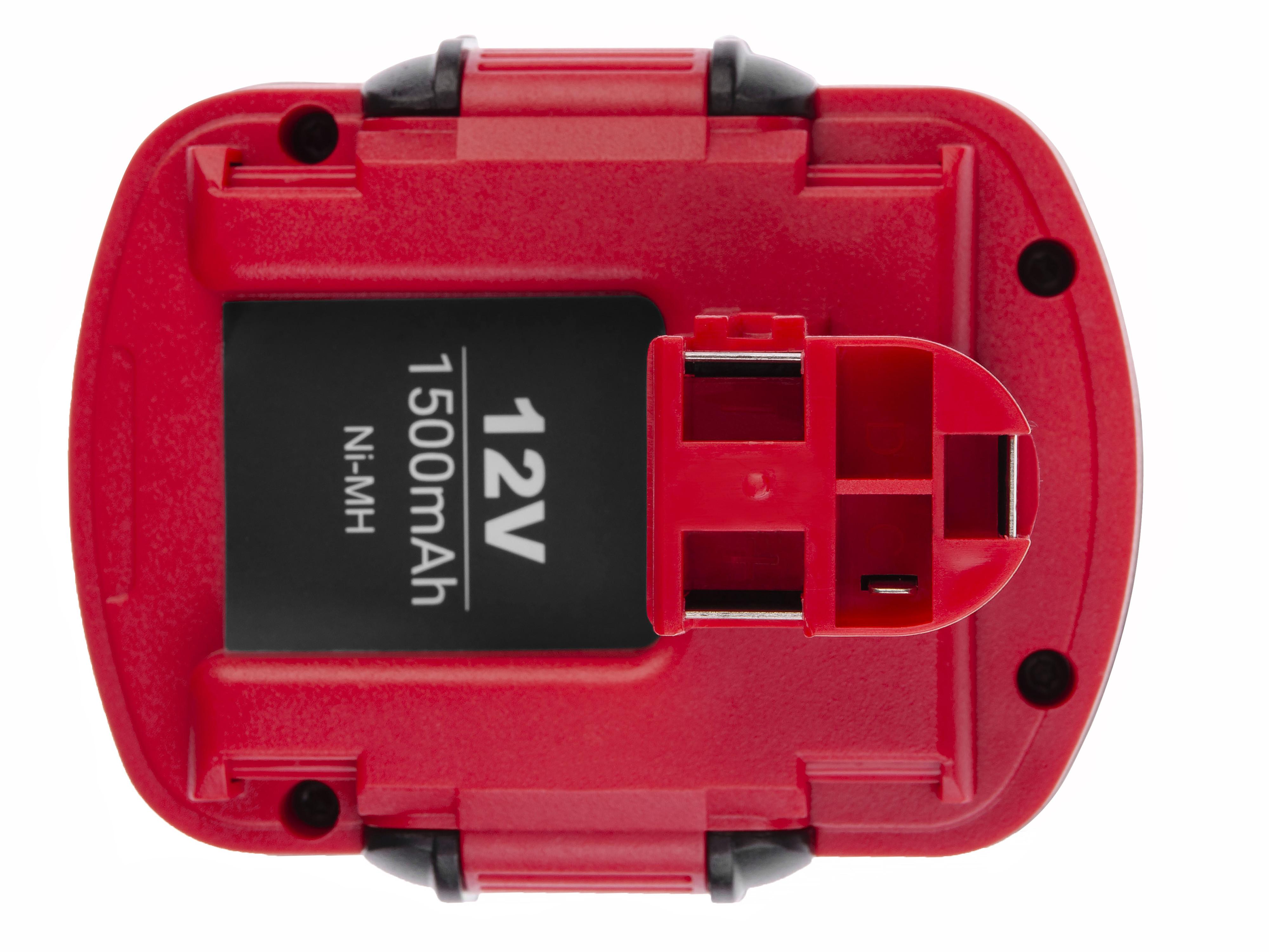 Baterie Green Cell Bosch O-Pack 3300K PSR 12VE-2 GSB 12 VSE-2 12V 1500mAh Ni-MH – neoriginální