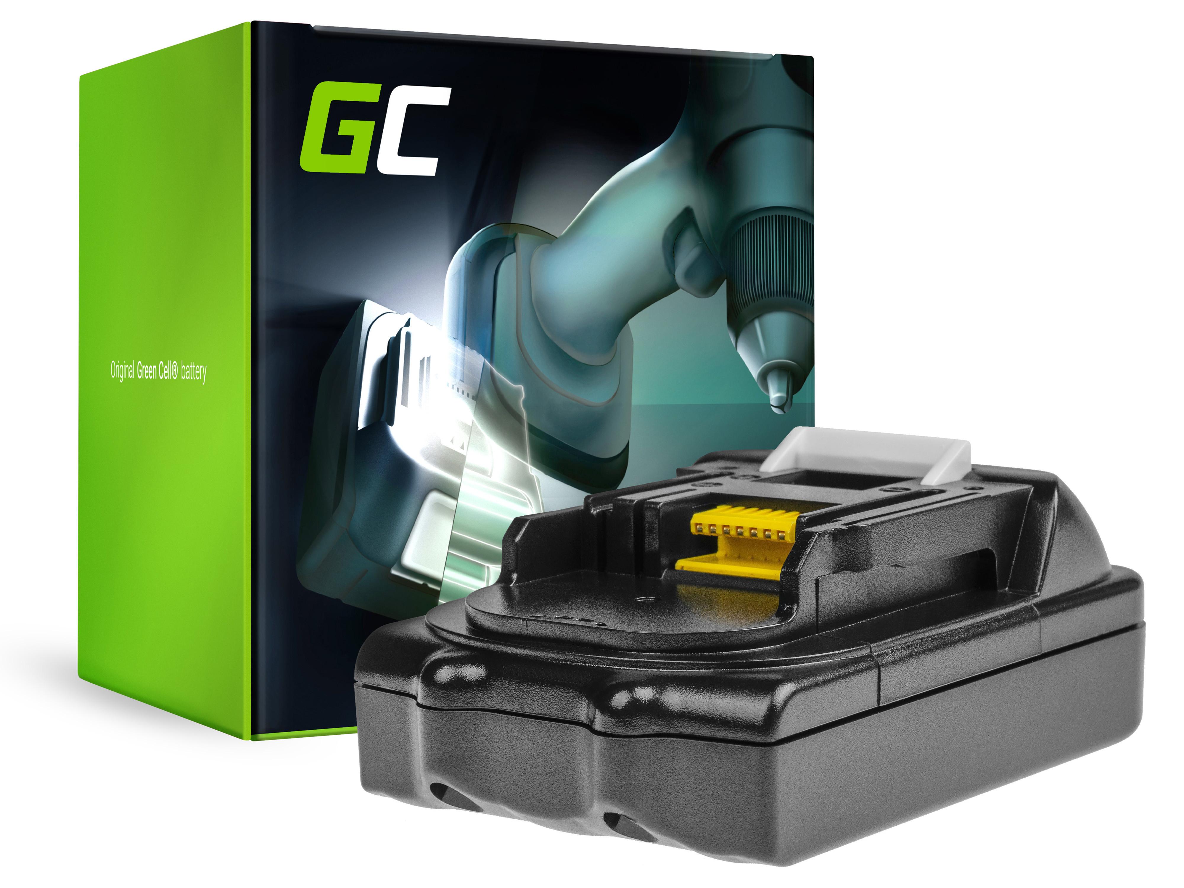 Baterie Green Cell Makita BL1815 BL1830 BL1840 BDF450SFE 18V 1500mAh Li-ion - neoriginální