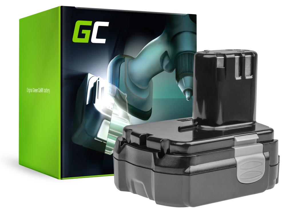 Green Cell Power Tool akkumulátor Hitachi CJ14DL BCL1415 14,4 2.5Ah