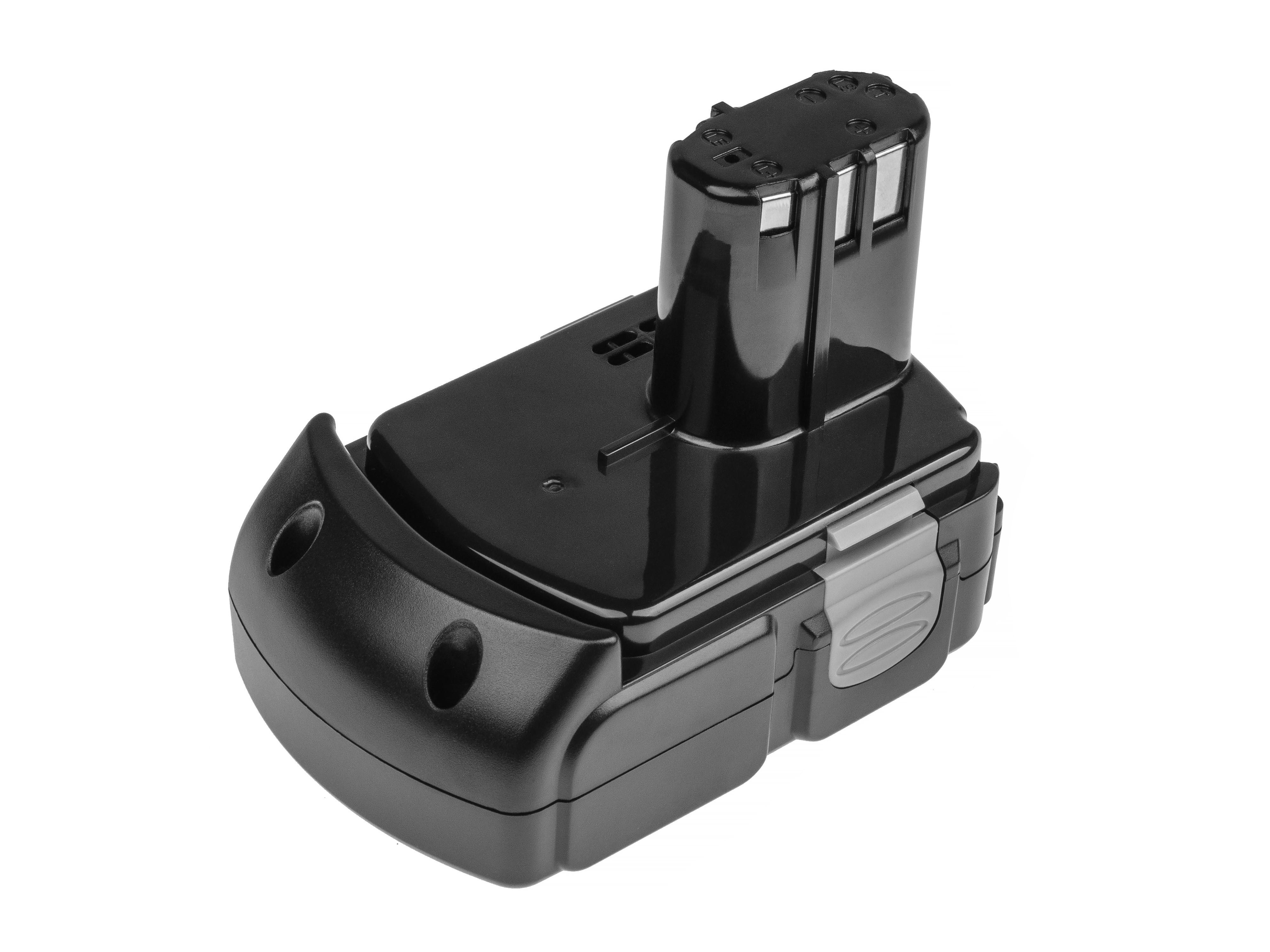 Green Cell Power Tool Battery Hitachi BCL1830 BCL1815 EBM1830 327730 18V 2.5Ah
