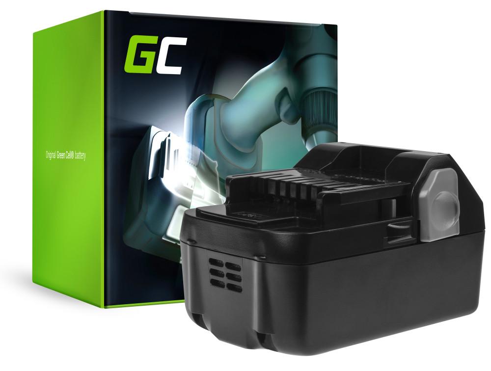 Green Cell Power Tool akkumulátor Hitachi C18DSL C18DSL2 C18DSLP4 CG18DSDL CJ18DSL 18V 4Ah