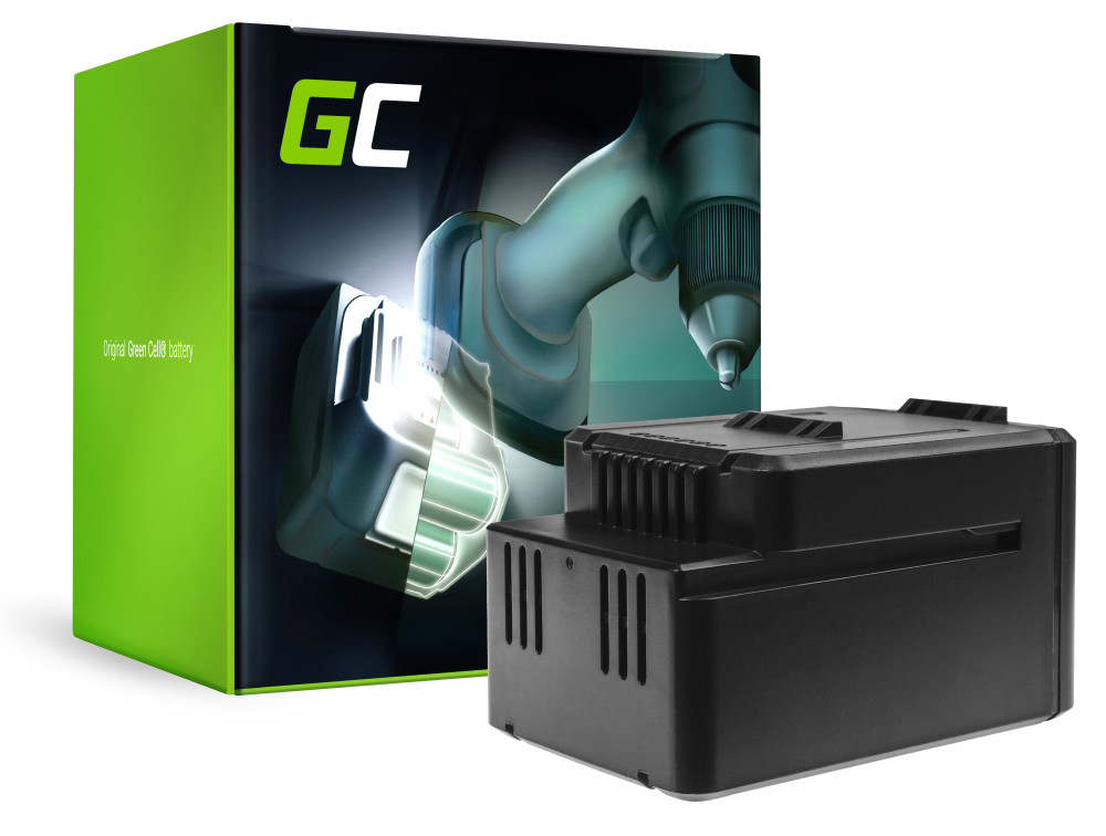 Green Cell Power Tool akkumulátor WORX WA3536 WG770 WG776 WG770E WG776E 40V 2Ah