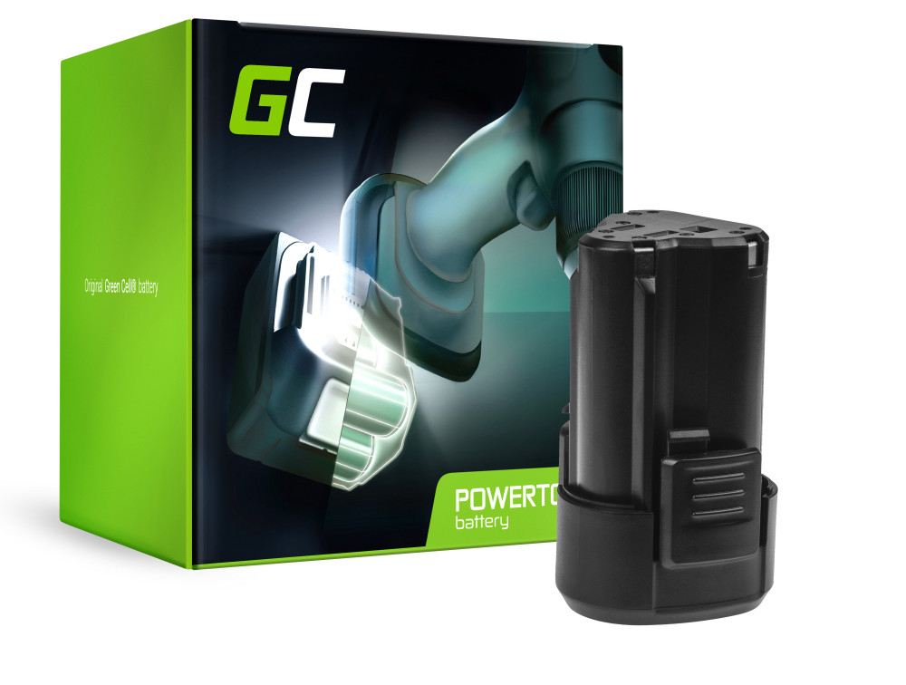 Green Cell Power Tool akkumulátor WORX WA3503 WA3509 12V 2Ah