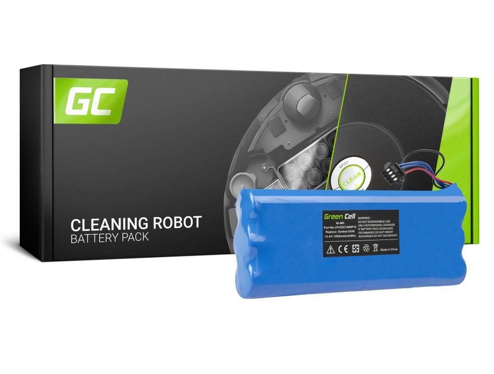 Green Cell Power Tool akkumulátor Ecovacs Deebot D523 D540 D550 D560 D570 D580 14,4 3Ah