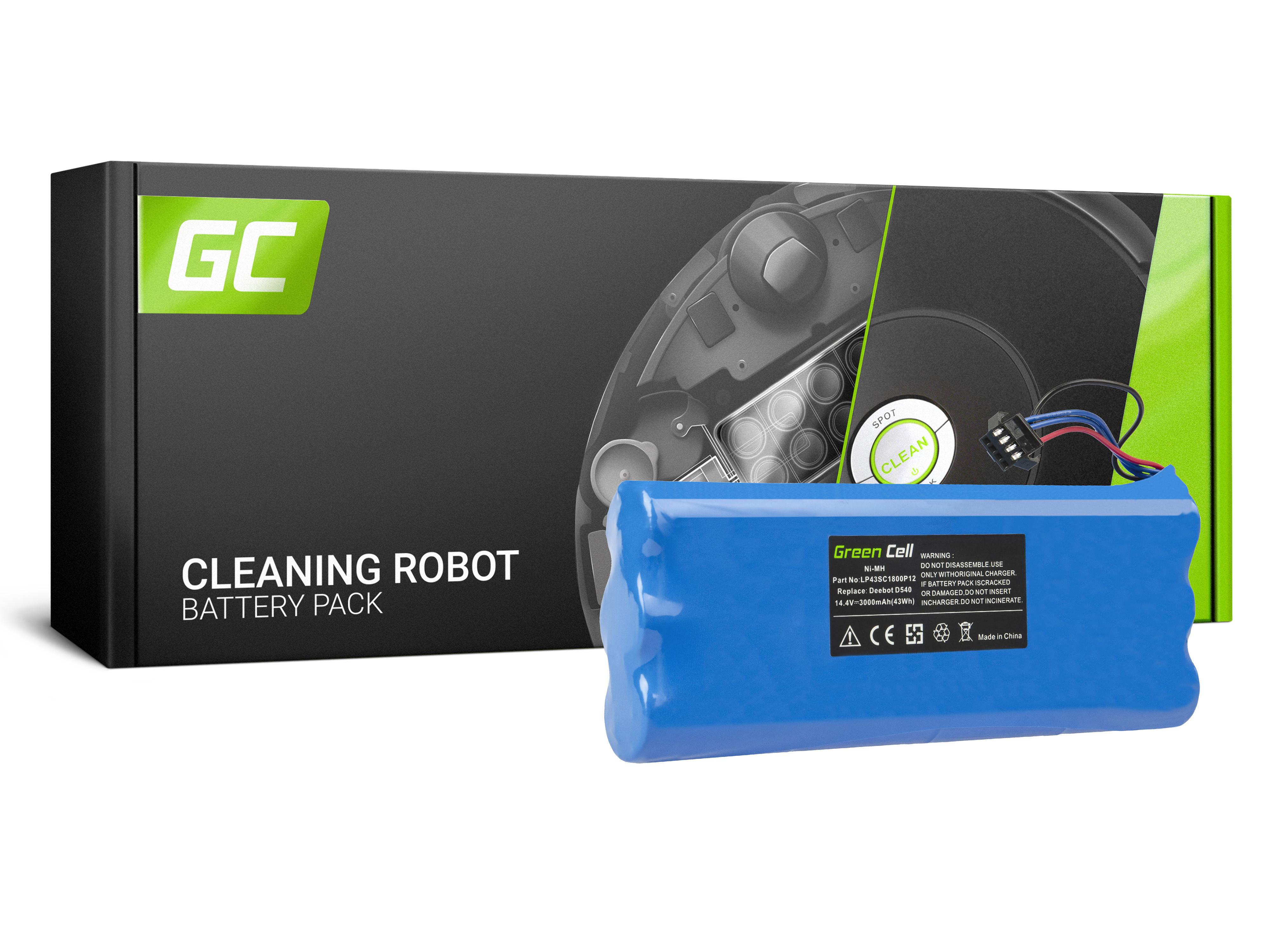 Green Cell Baterie Ecovacs Deebot D523 D540 D550 D560 D570 D580 14.4V 3Ah