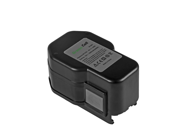 Baterie Green Cell AEG M1230, MXM12 AEG BEST 12 X Super BS 12X, BBS 12 X, BSB 12 STX 12V 3300mAh Ni-MH – neoriginální