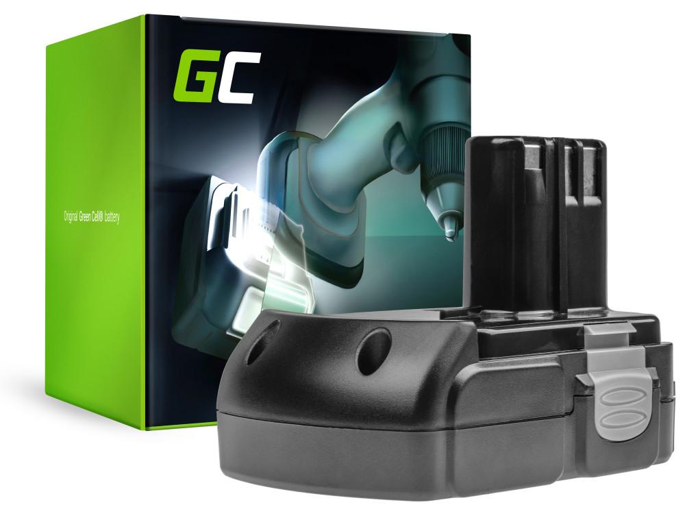 Green Cell Power Tool akkumulátor Hitachi BCL1815 C18DL 18V 1.5Ah