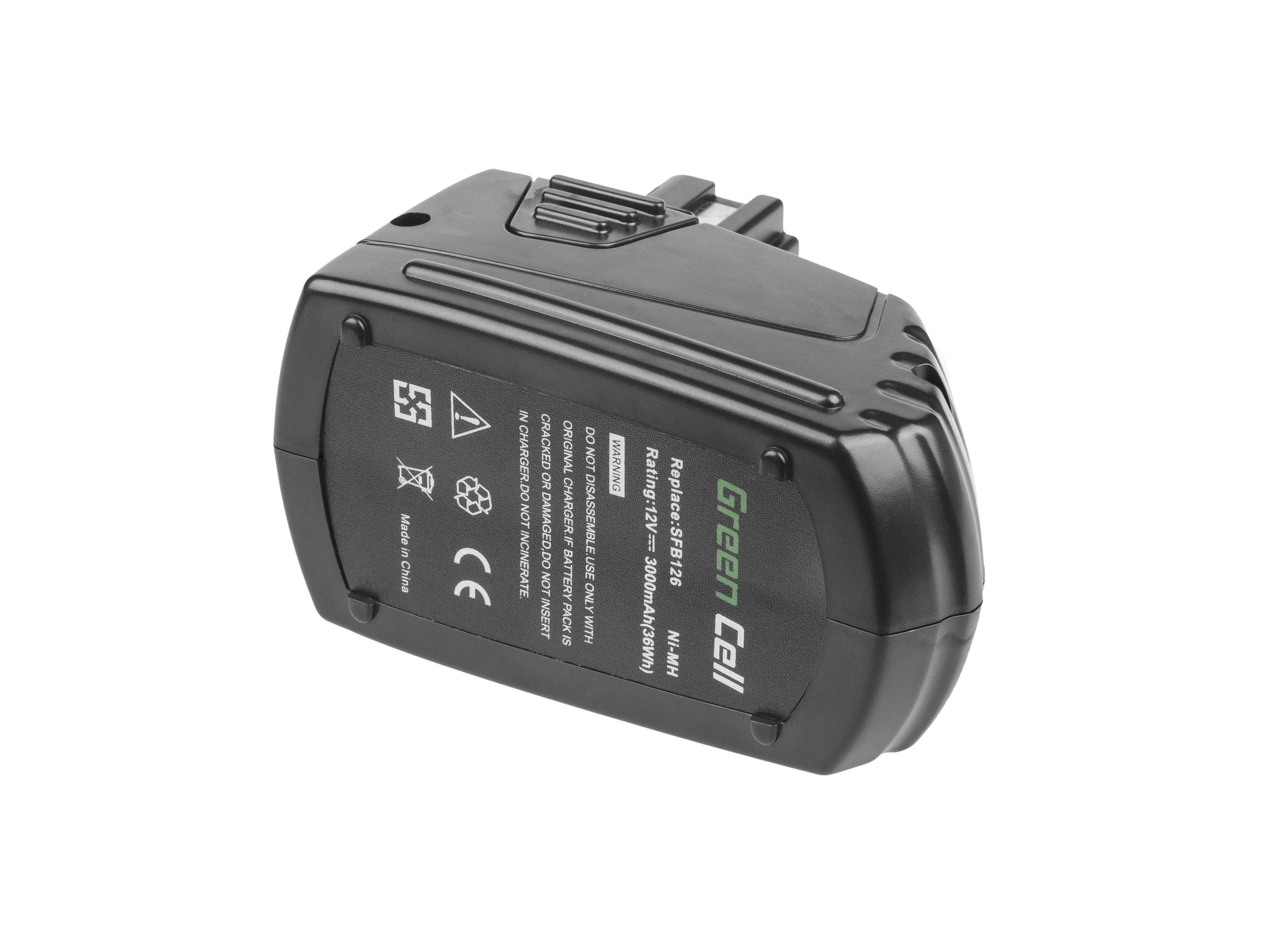 Green Cell PT153 Baterie Hilti SFB 121 SFB 126,Hilti SF 121-A SFL 12/15 SID 121-A 3000mAh Ni-MH – neoriginální