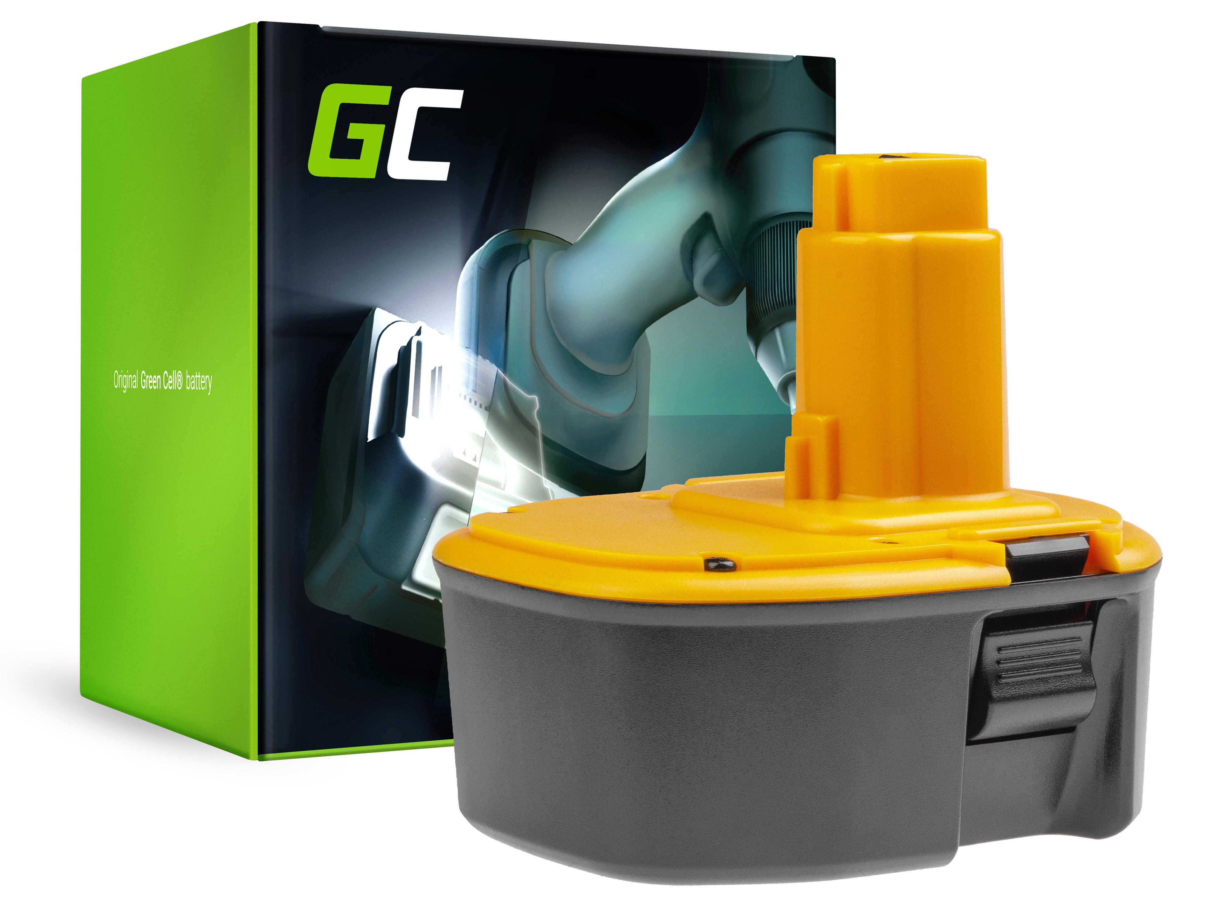 Green Cell Baterie DE9502 DW9091 DW9094 pro DeWalt DC551KA DW931K