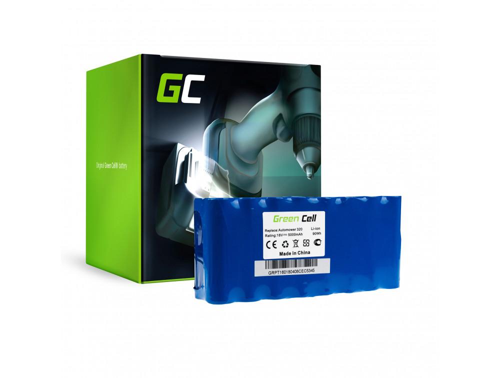 Green Cell Power Tool akkumulátor Husqvarna Automower 320 330X 430 18V 5AH