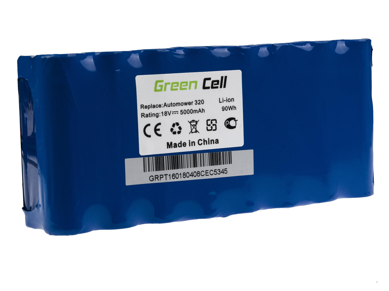 Green Cell Power Tool Battery for Husqvarna Automower 320 330X 430 18V 5Ah