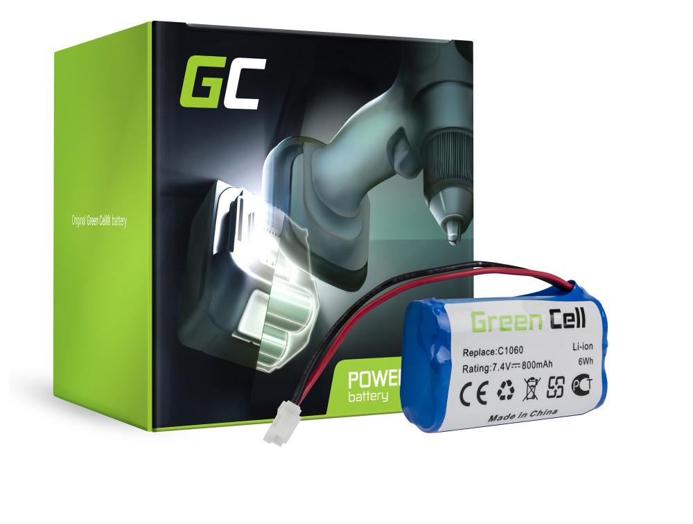 Green Cell Fűnyíró akkumulátor Gardena C 1060 Plus Solar