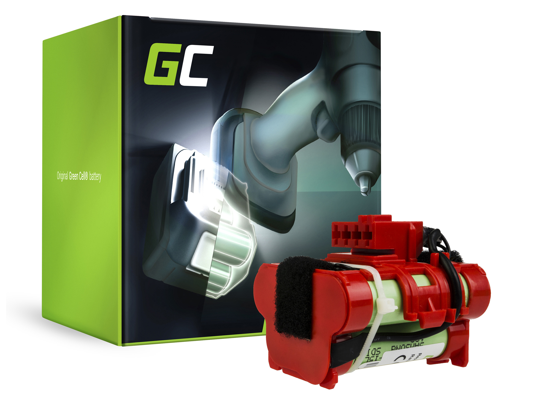 Baterie Green Cell Gardena R38Li R50Li R80Li Husqvarna Automower 105 305 McCulloch R1000 R800 18V 1500mAh Li-ion