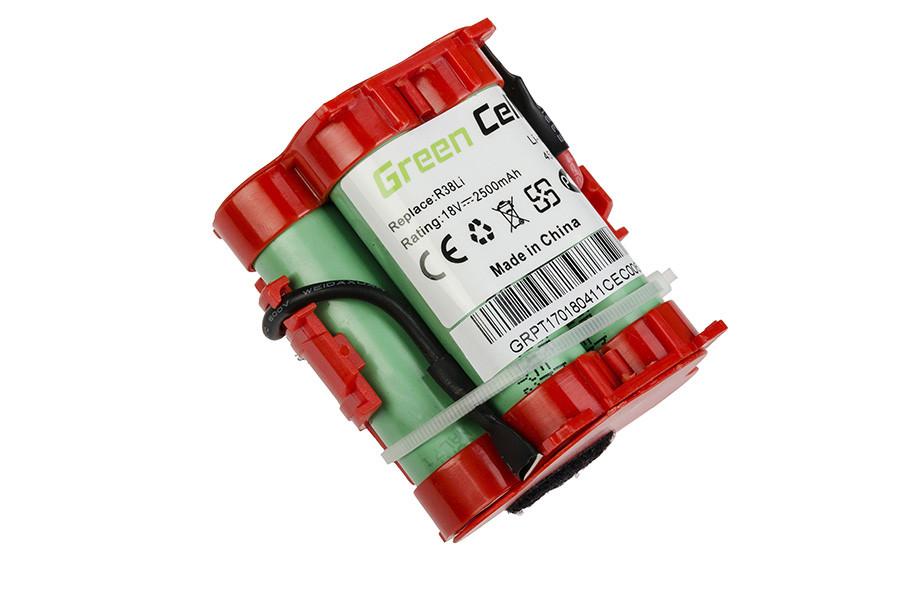 Baterie Green Cell Gardena R38Li R50Li R80Li Husqvarna Automower 105 305 McCulloch ROB R1000 R800 18V 2500mAh Li-ion - neoriginální