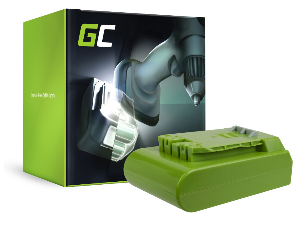 Green Cell Power Tool akkumulátor Greenworks 29852 G24 G24 24V 2Ah