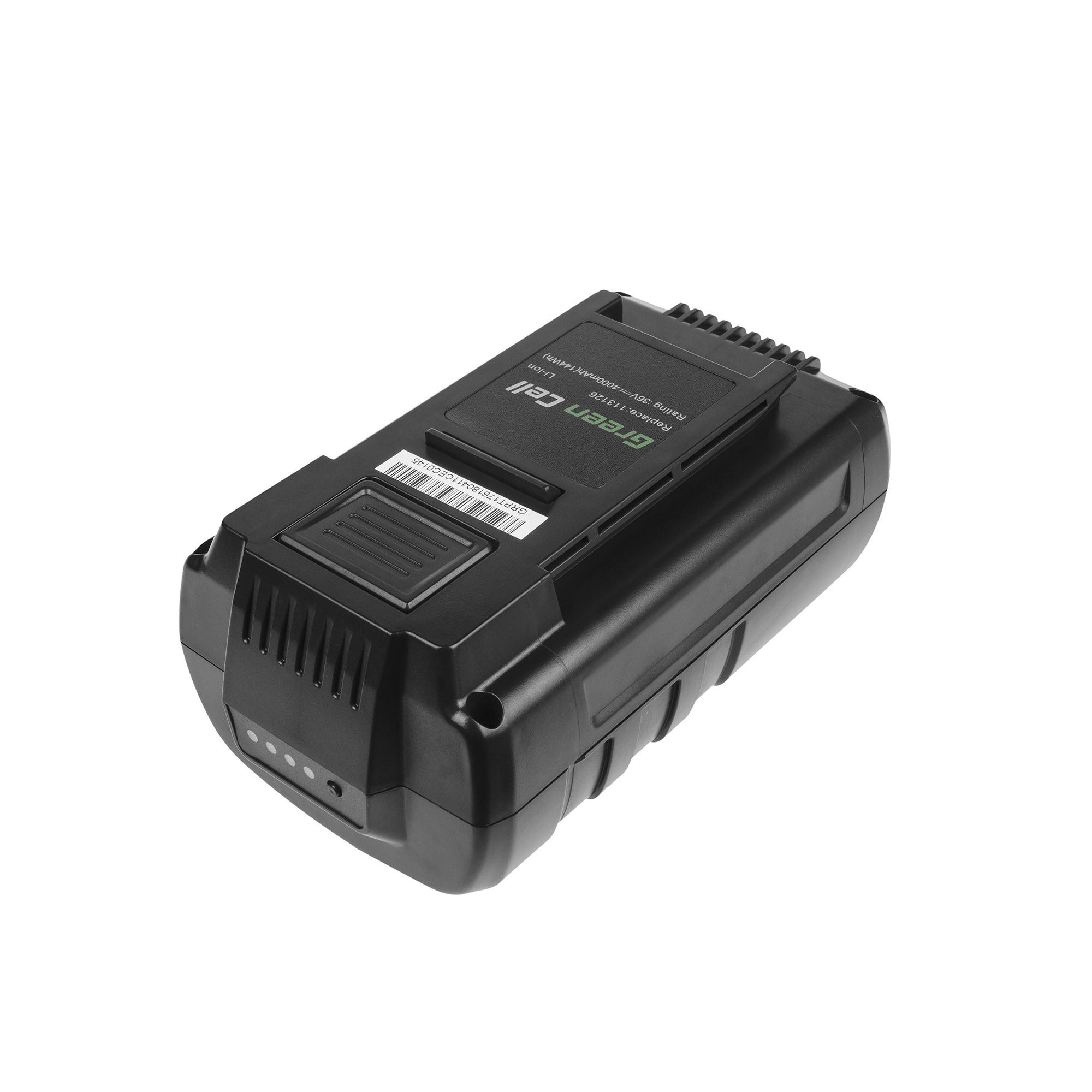 Baterie Green Cell Energy Flex 36V GC pro AL-KO 38.4 LI Comfort GT HT LB 36 Li Moweo 38.5 42.5 46.5 4000mAh Li-ion - neoriginální