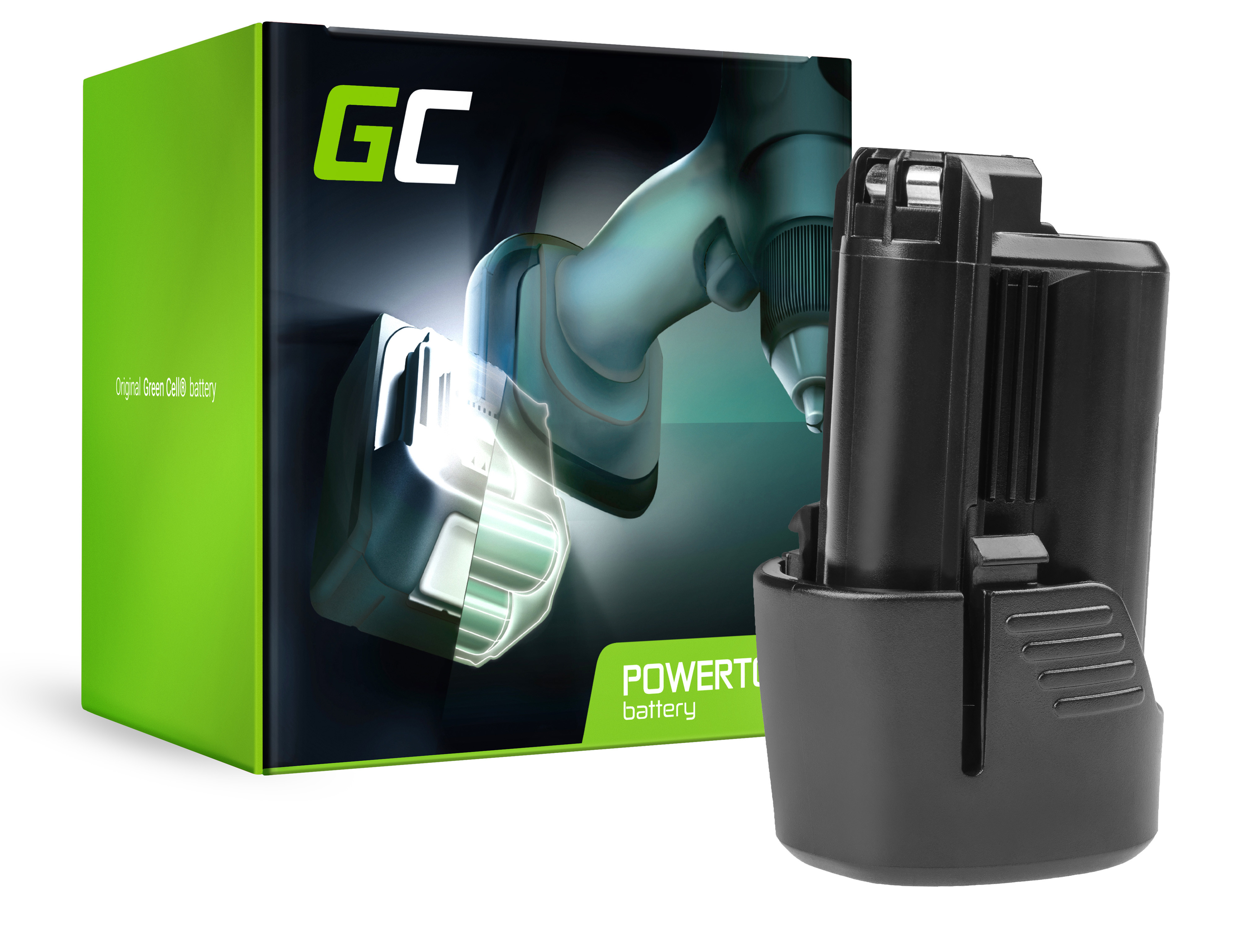 Green Cell Baterie Bosch GLI 10.8V-LI GSR 10.8V-LI