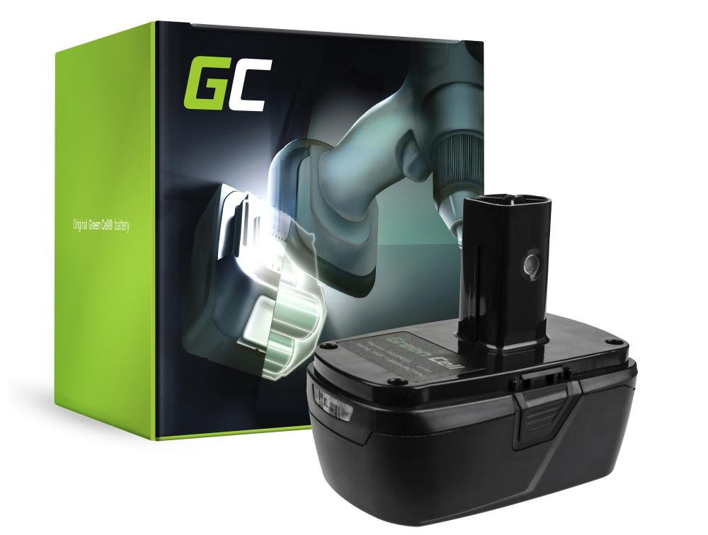 Green Cell Power Tool akkumulátor 11375 11376 Craftsman C3 XCP 19.2V CRS1000 ID2030 11485 114850 114852 115410 17191 5727,1