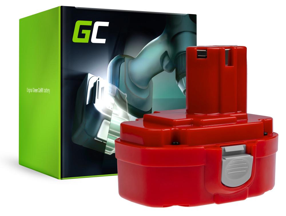 Green Cell Power Tool akkumulátor 1822 1833 PA18 Makita 4334D 6343D 6347D 6349D 6390D 8390D 8391D