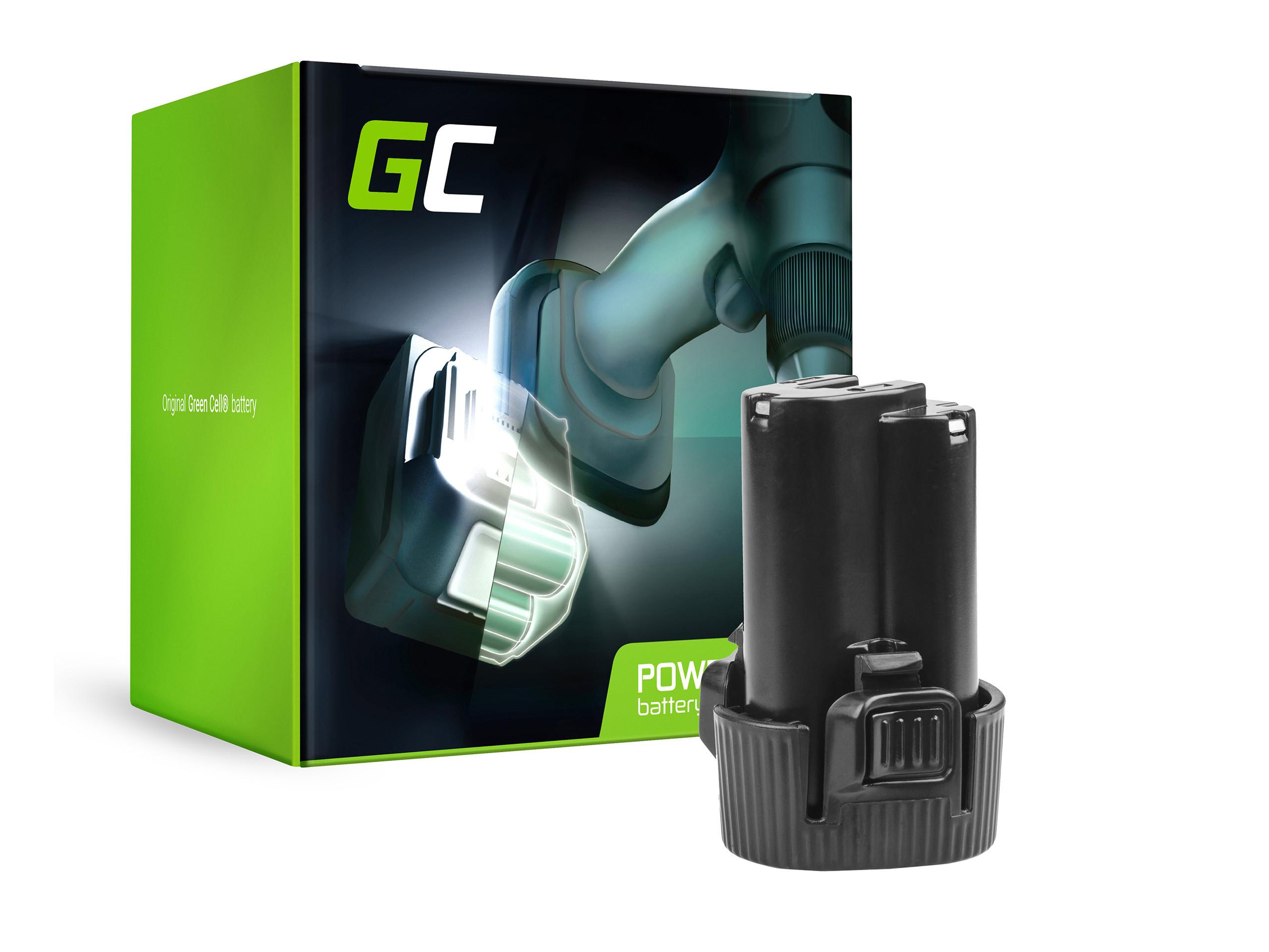 Green Cell Baterie BL1013 BL1014 Makita DA331DWE DF030D DF330D HP330DZ HS300DW TD090