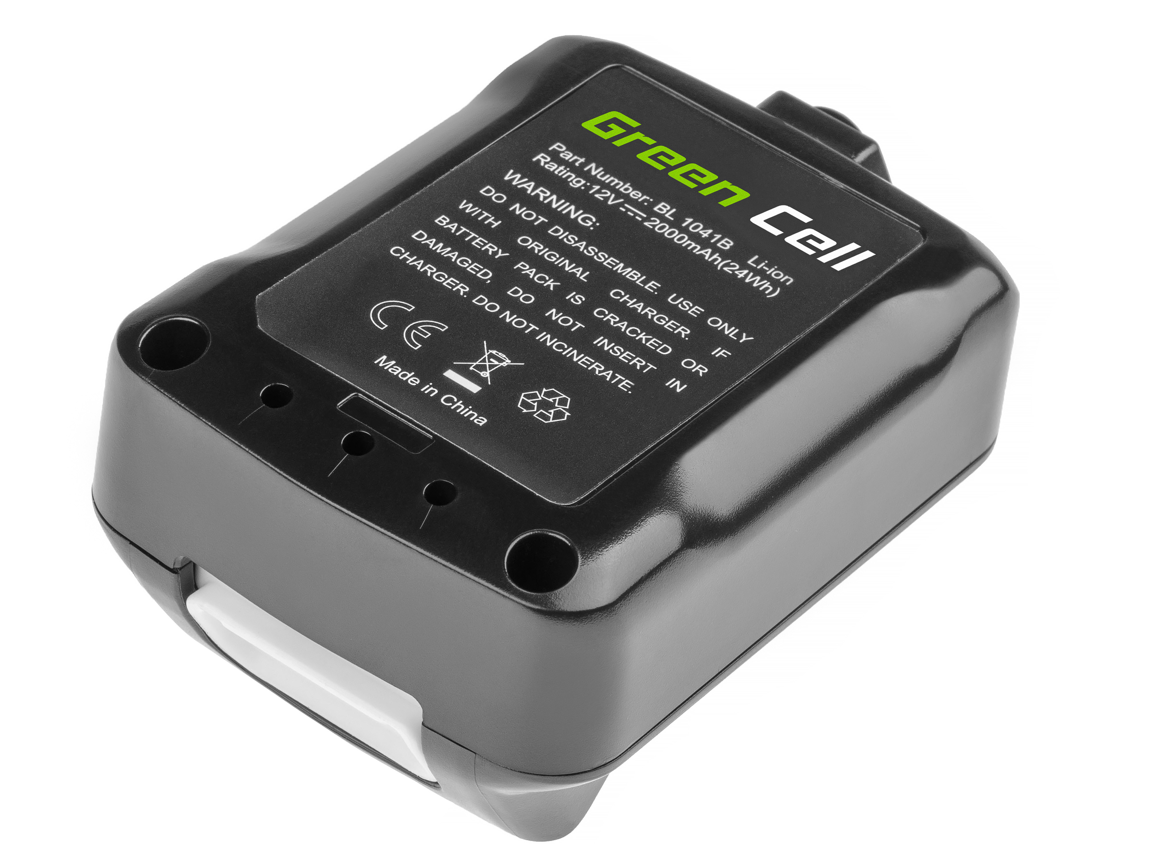 Green Cell PT185 Baterie Makita BL1016 BL1021B BL1040B BL1041B Makita DF031 DF331 HP330 HP331 TD110 TM30 UM600 | 12V 2000mAh Li-ion - neoriginální