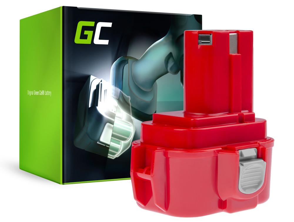 Green Cell Power Tool akkumulátor 9120 9122 9134 9135 PA09 Makita 6207D 6222D 6261D 6503D 6909D 6991D