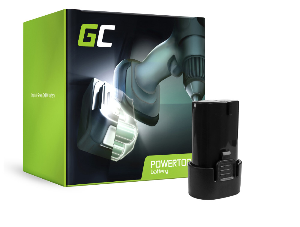 Green Cell Power Tool akkumulátor BL7010 BL0715 Makita CL070 CL072 DF010 DF012 TD020 TD021 TD022