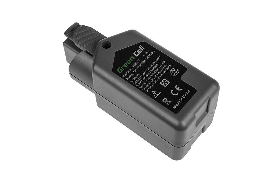 Baterie Green Cell Wolf-Garten 7420096 Power Pack 3 Wolf-Garten GT 815 GTB 815 HSA 45 V 18V 2000mAh Li-ion - neoriginální
