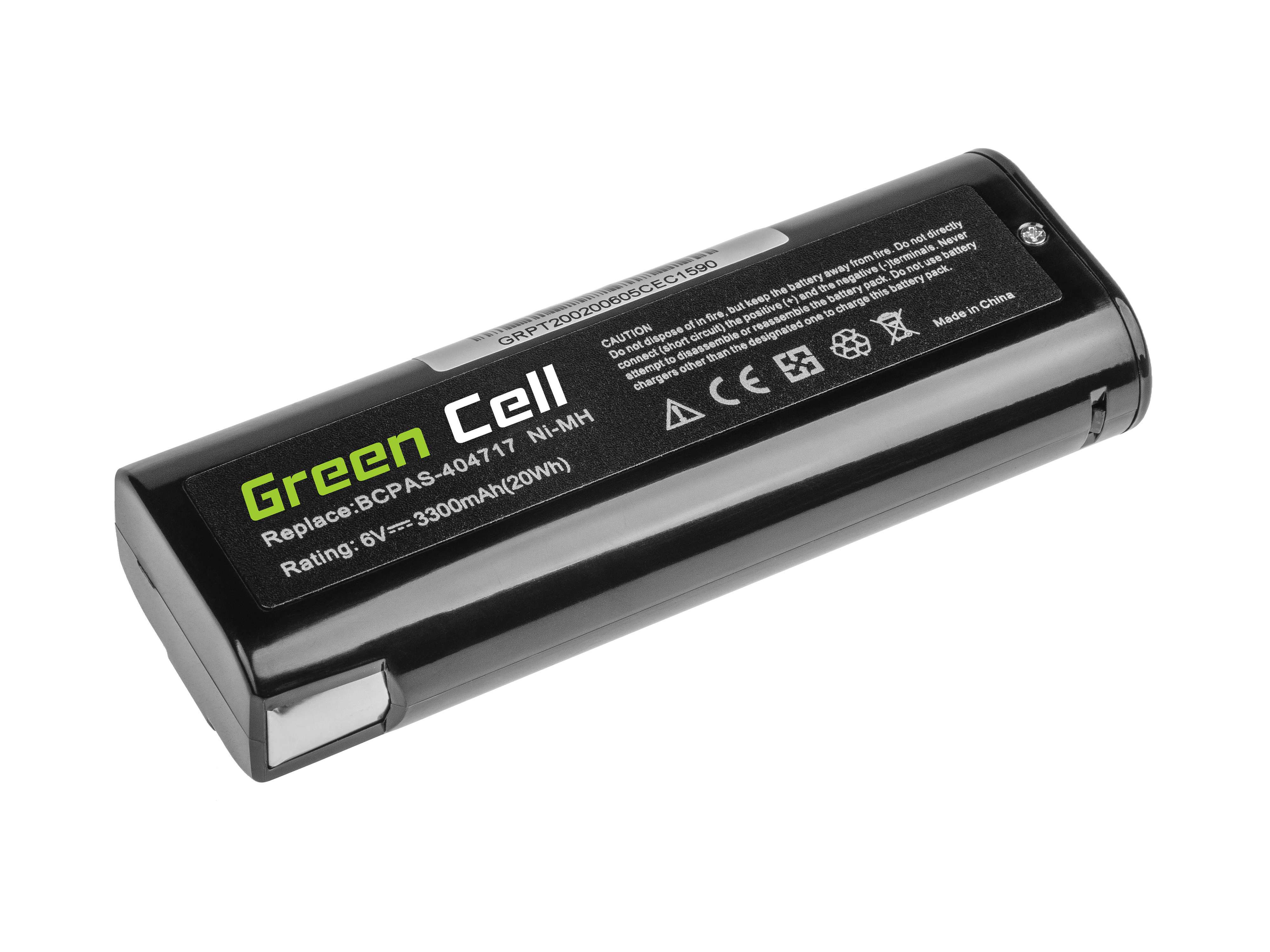 Baterie Green Cell Paslode IMCT IM50 IM65 IM200 IM250 IM300 IM325 IM350 6V 3300mAh Ni-MH – neoriginální