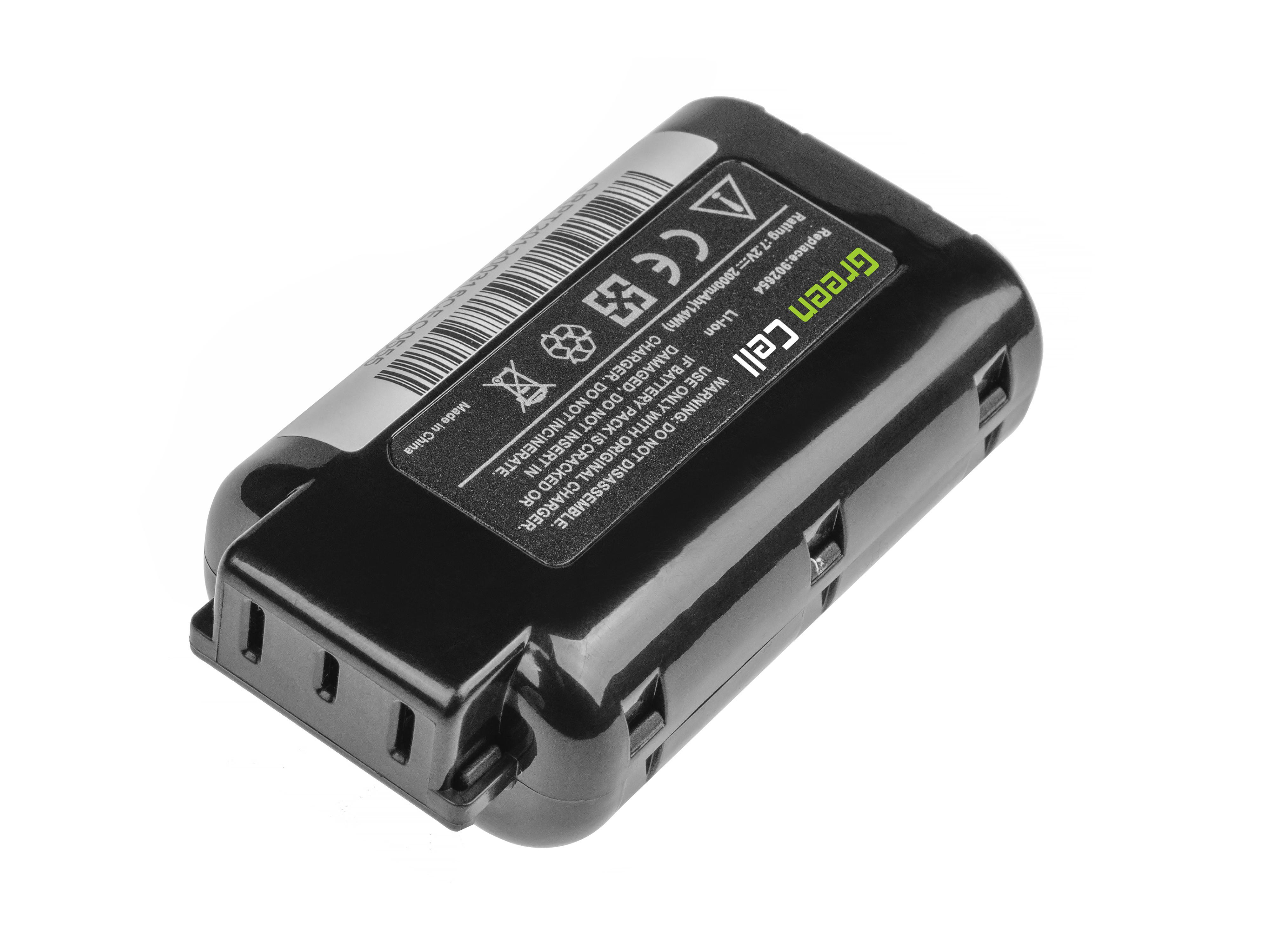 Green Cell Baterie 902654 B20543 pro Paslode PPN35i Li CF325Li CF325XP IM65Li IM250Li IM360Ci Li